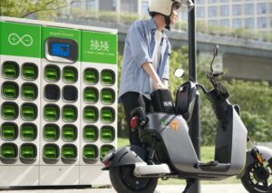 Gogoro battery swapping service