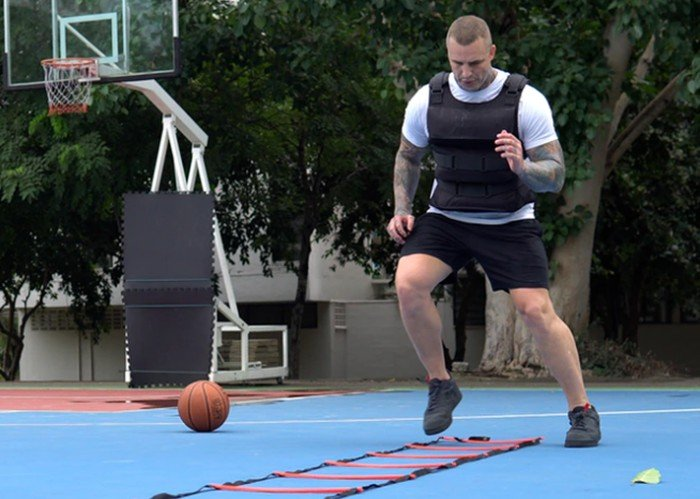HydraTech water weighted training vest