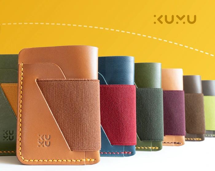 Kumu Zero minimalist wallet leather handmade