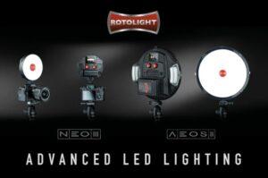 LED camera light system