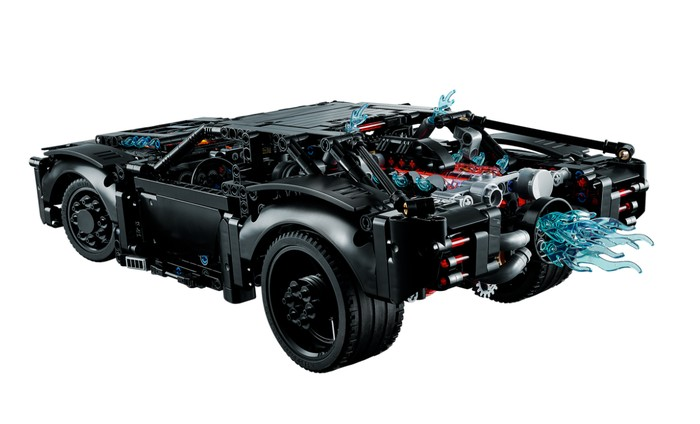 LEGO muscle Batmobile car kit 2
