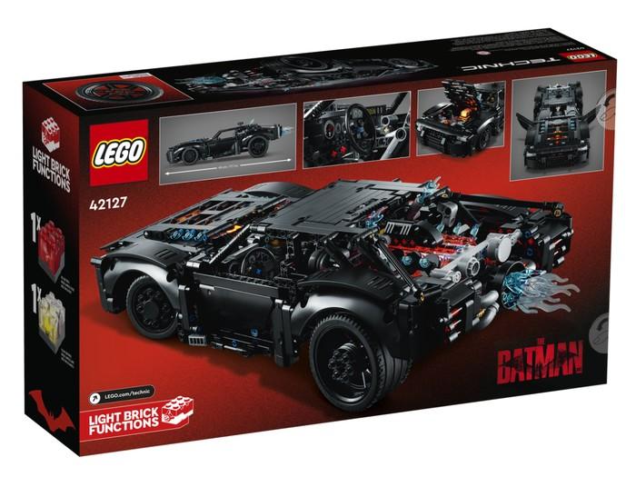 LEGO Batmobile kit