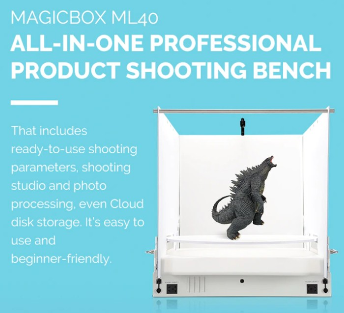 MagicBox ML40 product photography studio