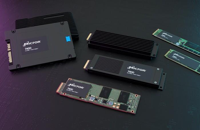 Micron 7400 PCIe 4.0 NVMe Enterprise SSD range