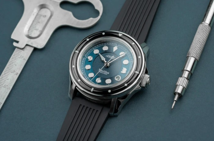 Nautilus dive watch inspired by Jules Verne