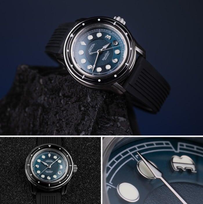 Nautilus dive watch