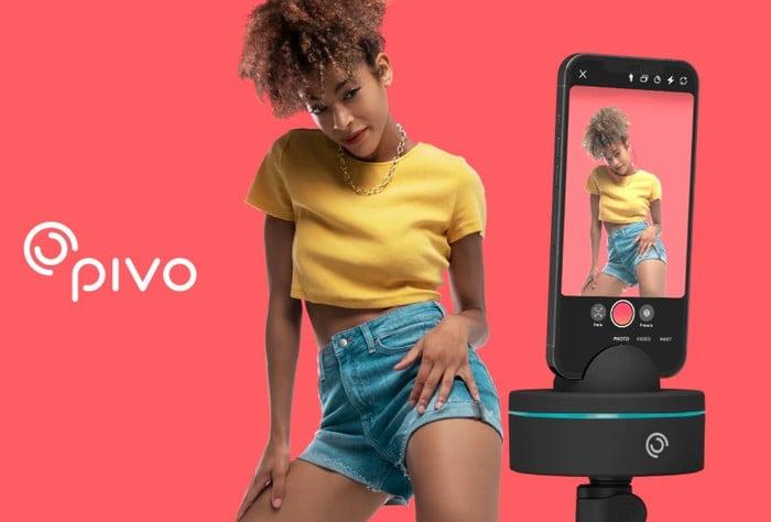 Pivo Pod X auto tracking phone tripod mount