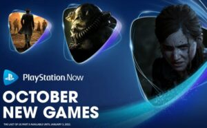PlayStation Now games October 2021