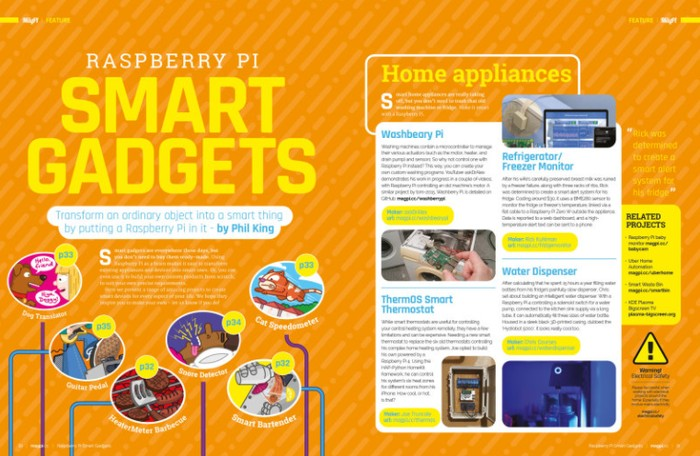 Raspberry Pi official magazine