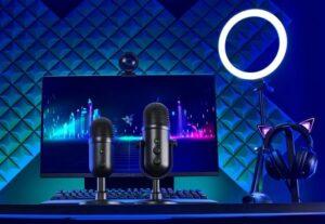 Razer professional microphones