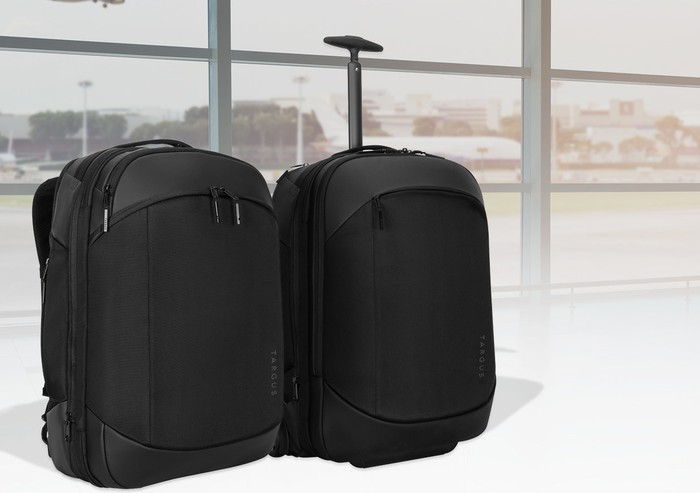 Targus travel range made from recyclable water bottles