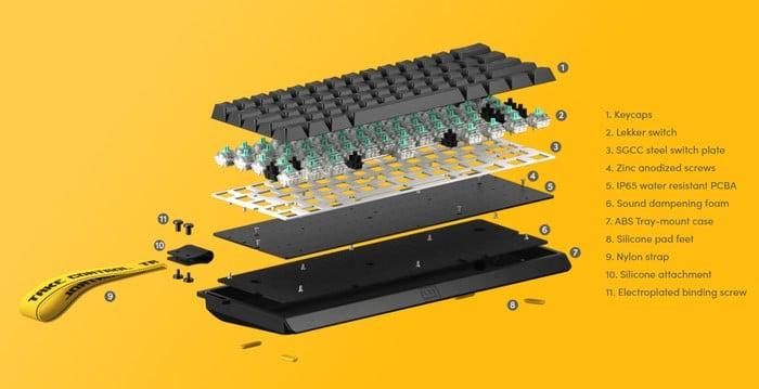 Wooting analogue keyboard