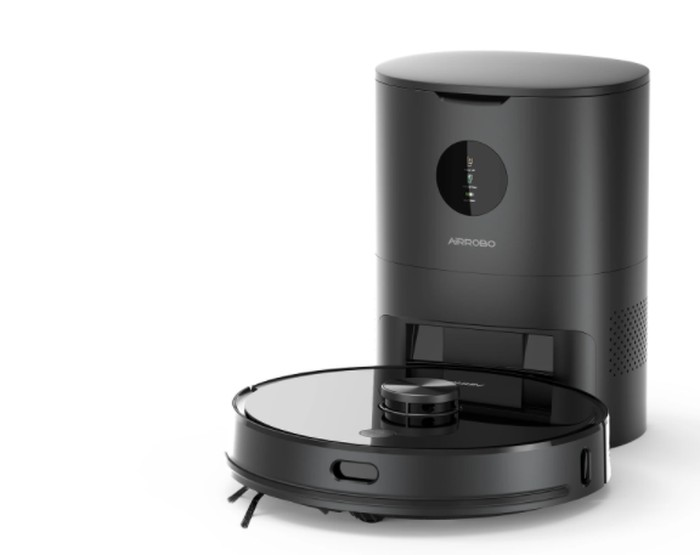 automatic emptying robot vacuum cleaner
