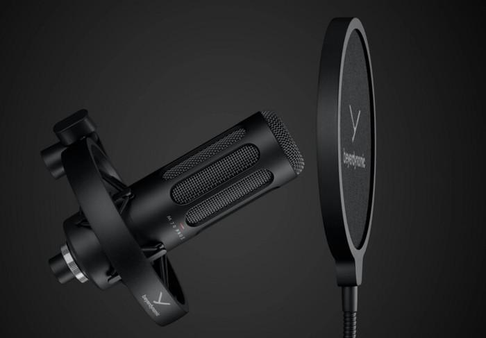 beyerdynamic M 70 Pro X and M 90 Pro X USB condenser microphones