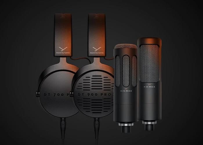 beyerdynamic pro Headphoines and USB condenser microphones