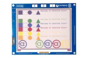 e-paper color display