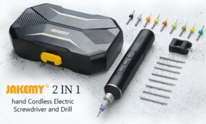 electric screwdriver and drill