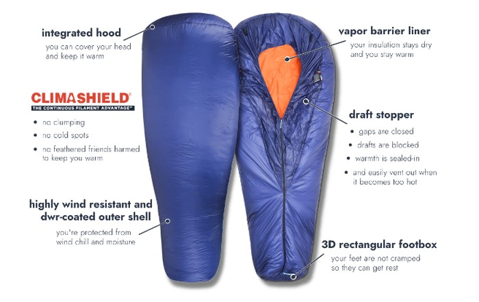 extreme outdoor sleeping bag