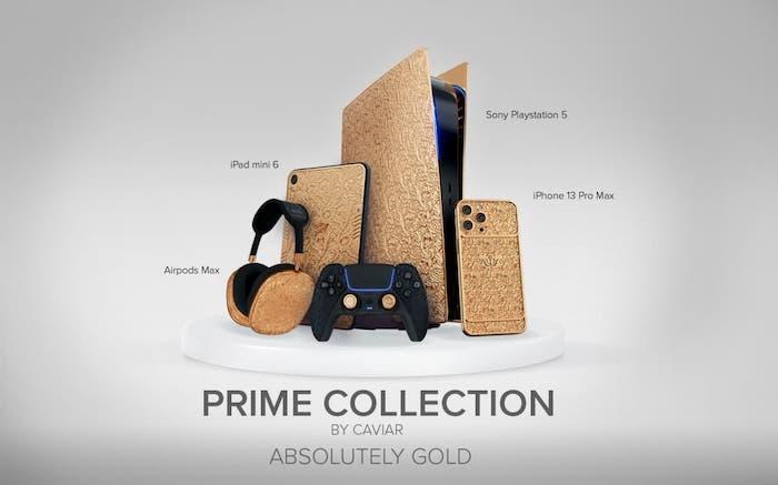 gold PlayStation 5