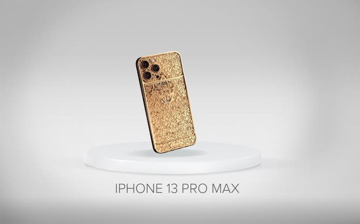 gold iPhone 13