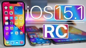 iOS 15.1 RC