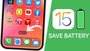 iOS 15 battery life
