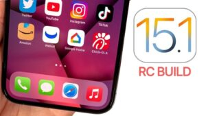 iOS 15.1 Release Candidate
