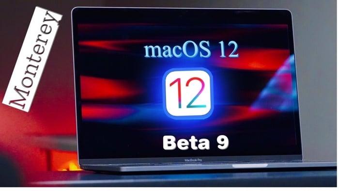 macOS Monterey 12 Beta 9