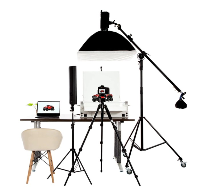 small product photography studio