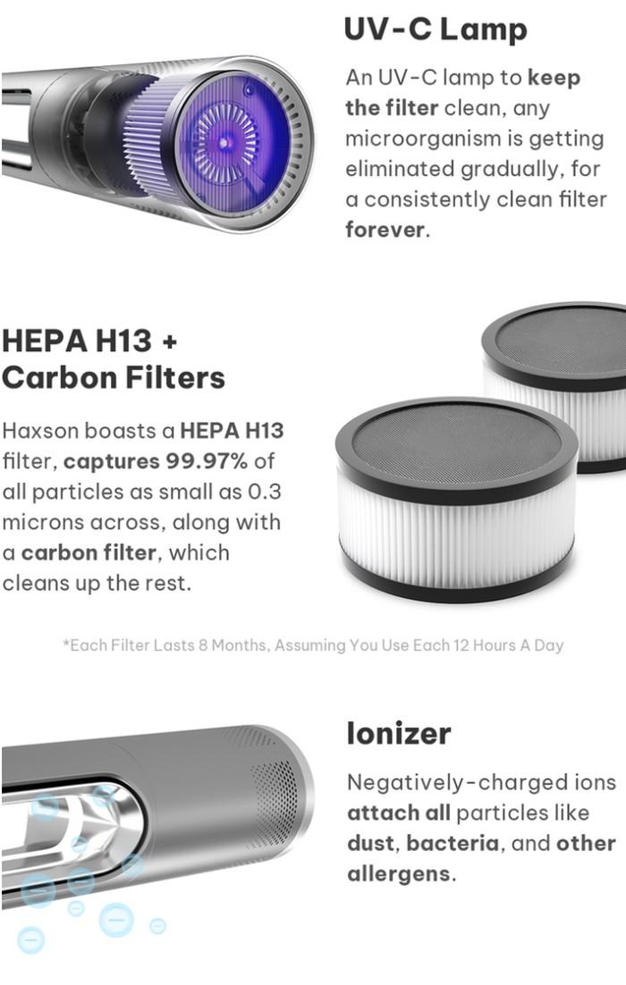 smart fan air purifier