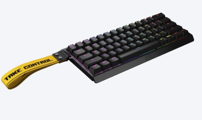 tenkeyless (TKL) analogue keyboard
