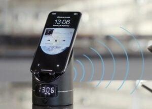 wireless induction phone speaker